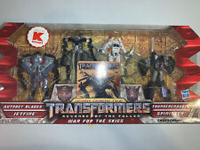 Transformers ROTF LEGENDS WAR FOR THE SKIES 4 Pack New 2009 KMART Exclusive MOSC