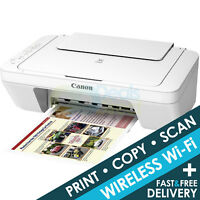 Canon PIXMA MG3051 (white MG3050 ) 3-In-1 Wireless WiFi Inkjet Printer Only Deal