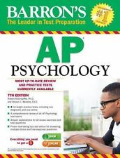 NEW - Barron's AP Psychology, 7th Edition