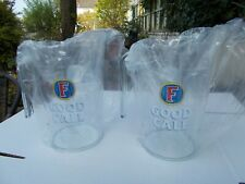 2 x NEW FOSTERS ' GOOD CALL ' 2019 POLYCARBONATE 4 PINTS TO LINE PITCHERS JUGS