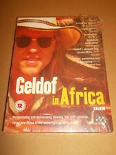Geldof In Africa (DVD, 2005, 2-Disc Set) BRAND NEW