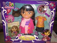 NEW DORA THE EXPLORER DRESS UP COLLECTION SET WITH DOLL SHIP EVERYDAY