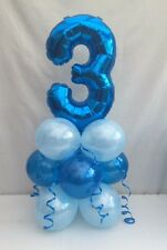 3RD birthday balloon kit,blue table centre display,3RD birthday party,fast post