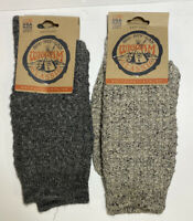 2 Pair Wigwam Classic Emory Outdoor Crew Sock Shoe Size Wmns 6-10, Mens 5-9.5
