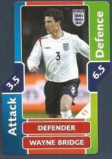 TOPPS MATCH ATTAX WORLD CUP 2006- #011-ENGLAND-WAYNE BRIDGE