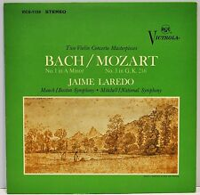 "JAIME LAREDO  ""Violin Concertos - Bach No.1 In A Minor / Mozart No. 3 In G""   EX"