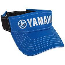 Yamaha Visor in Yamaha Blue/Black - One Size - Genuine Yamaha - Brand New