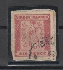 C2984/ BRITISH VIRGIN ISL – SG # 4 USED – CV 175 $