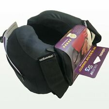 NEW Cabeau Evolution S3 Memory Foam Neck Pillow JETBLACK. Great to Chill Out!