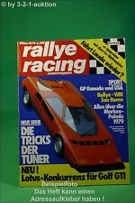 Rallye Racing 11/79 Talbot Simca Sunbeam Lotus + Poster