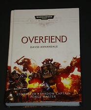 Overfiend Warhammer 40,000 Space Marine Battles David Annandale HC 1st/1st 2014
