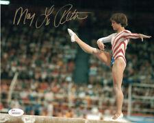Mary Lou Retton Autographed/Signed USA Olympics 8x10 Photo JSA 14515