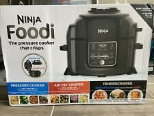 New ListingNinja Foodi 6.5 qt TenderCrisp Tech Air Fryer Digital Multi Cooker Op301