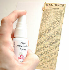 Paper Preservation Spray 30ml