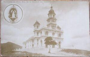 Santuario, Caridad del Cobre, Santiago de Cuba 1920s AZO Realphoto Postcard