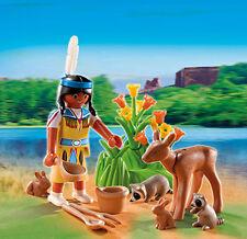 Playmobil - Indianer-Mädchen - großes Osterei, Ostern, 5278