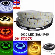5M 300 LED Flexible Tape 5630 5730 SMD Strip Light DC12V Indoor Outdoor Decor