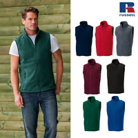 Russell Men's Outdoor Fleece Gilet R-872M-0 - Casual Sleeveless Bodywarmer Vest