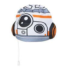 OFFICIAL STAR WARS BB-8 HEADPHONE HAT BEANIE FLEECE KIDS CHILDRENS