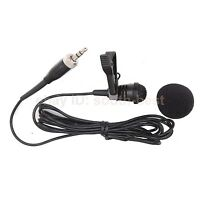 Pro Lapel Lavalier Microphone Mic For Sennheiser SK100 300 500 G1 G2 G3 Wireless