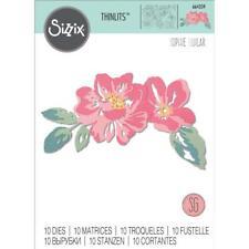 Sizzix Thinlits Die Floral Layers 10pc Set