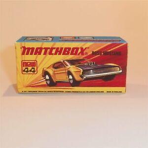 Matchbox Superfast 44 e Boss Mustang Empty Repro I Style Box