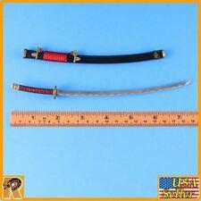 Nohime Japanese Heroine - Metal Long Katana Sword #1 - 1/6 Scale - Very Cool