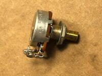 Rare Vintage 1950s Mallory 1 meg ohm Linear Taper Guitar Potentiometer 1M Pot