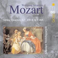 Mozart (1756-1791) • String Quartes KV 458 & KV 465 CD • Leipziger Streichquarte