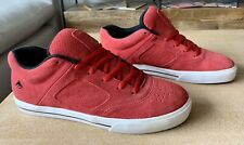 "Emerica OG Reynolds 3 M's Sz 11 - ""EMB"" Red Suede"