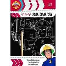 Conjunto de arte bombero samscratch Diversión Craft Juego Para Niños