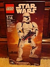 LEGO Disney Star Wars First Order Stormtrooper Buildable Figures 75114 MISB