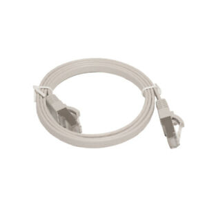 LinITX PRO SERIES FLAT CAT7 UTP ETHERNET PATCH CABLE - 1M GREY