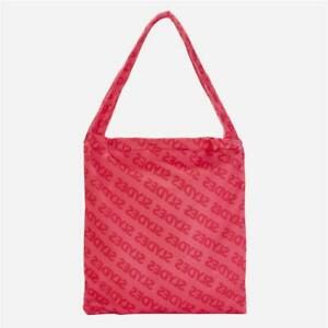 Slydes Chance Convertible Beach Towel/Tote Bag Neon Pink (G1) RRP £15.99
