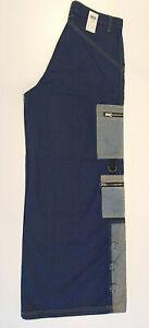 NOS Vintage MOS Melbourne Tezkaclothing Raver Phat Fat Pants Denim Mens Size 34