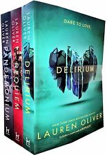 Delirium Trilogy Series Collection Lauren Oliver 3 Books Set Pandemonium Requiem