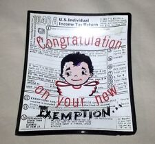 Congratulation on your new Exemption Ashtray. Odd. Free Shipping!