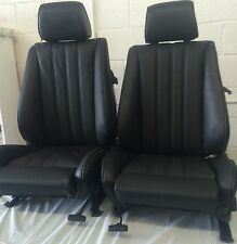BMW e30 325i 318i New Front Sport Seats For IS & I 1982-92 in Black  $1250