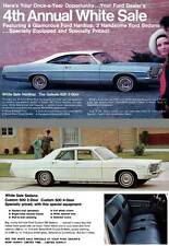 Ford 1967 - 4th Annual White Sale - White Sale Hardtop: The Galaxie 500 2-Door,