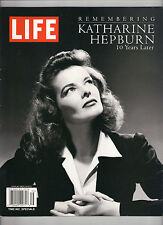 NEW! LIFE Remembering KATHARINE HEPBURN 10 Years Later 2013 Time Specials cPICS
