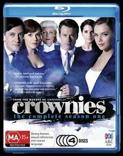CROWNIES ABC COMPLETE FIRST SERIES ONE SEASON 1 R/B BLU RAY MAKERS OF UNDERBELLY