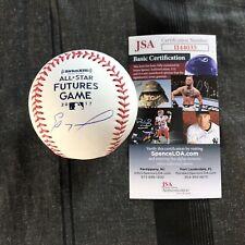 Eloy Jimenez Signed 2017 Futures Game Baseball Autographed White Sox + JSA COA