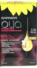 1 Garnier Olia 3.16 Darkest Violet 3 X Shine 60% Oil Powered Permanent Hair Dye