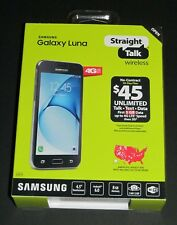 "New Sealed, Straight Talk Samsung Galaxy Luna S120VL 4.5"" 8GB Prepaid Smartphone"