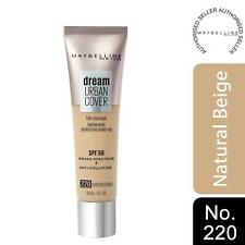 Maybelline Dream Urban Cover SPF50 All-In-One Protective Makeup, 220NaturalBeige