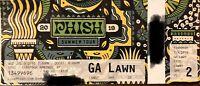 PHISH PTBM 7/3/19 Ticket Stub SPAC, Saratoga Springs, NY Night 2