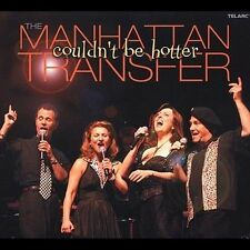THE MANHATTAN TRANSFER - Couldn't Be Hotter - (CD, Telarc Distribution)-MINT