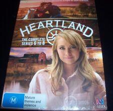 Heartland The Complete Series 6, 7 & 8 (Australia Region 4) DVD Box Set – New
