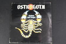Ostrogoth - Ecstasy & Danger 1984 Mausoleum Skull 8319 Metal LP Vinyl Record
