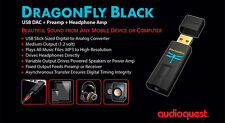 AUDIOQUEST DRAGONFLY  BLACK Convertitore DAC USB Uscita Cuffia NUOVO GARANZIA